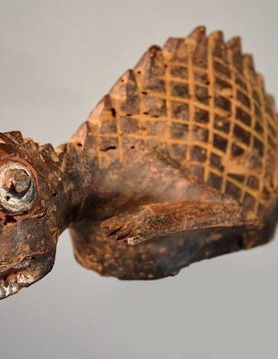 02-Mambila Chameleon Headdress 0153 002
