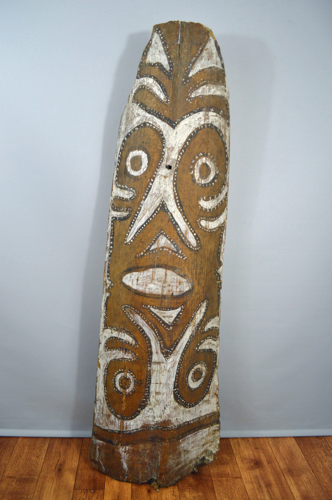 Sago Bark Painting