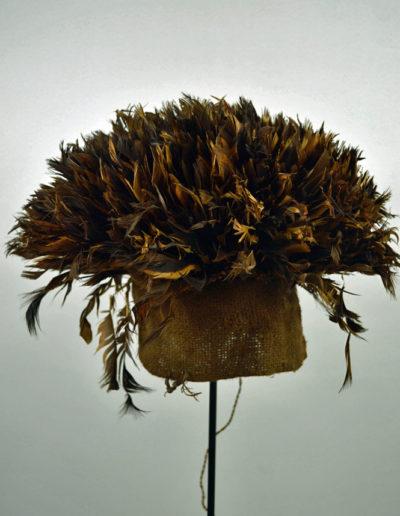 Bamileke Mekan Feather Hat 1130_0001