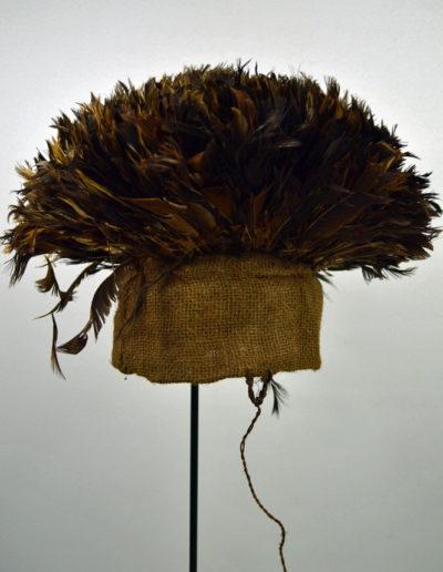 Bamileke Mekan Feather Hat 1130_0003