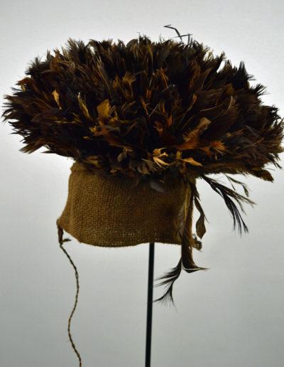 Bamileke Mekan Feather Hat 1130_0004