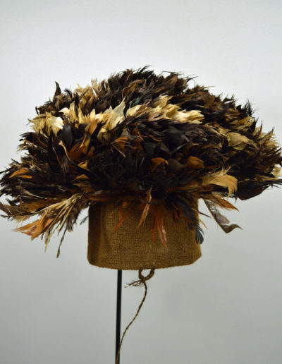 Bamileke Mekan Feather Hat 1132_0002
