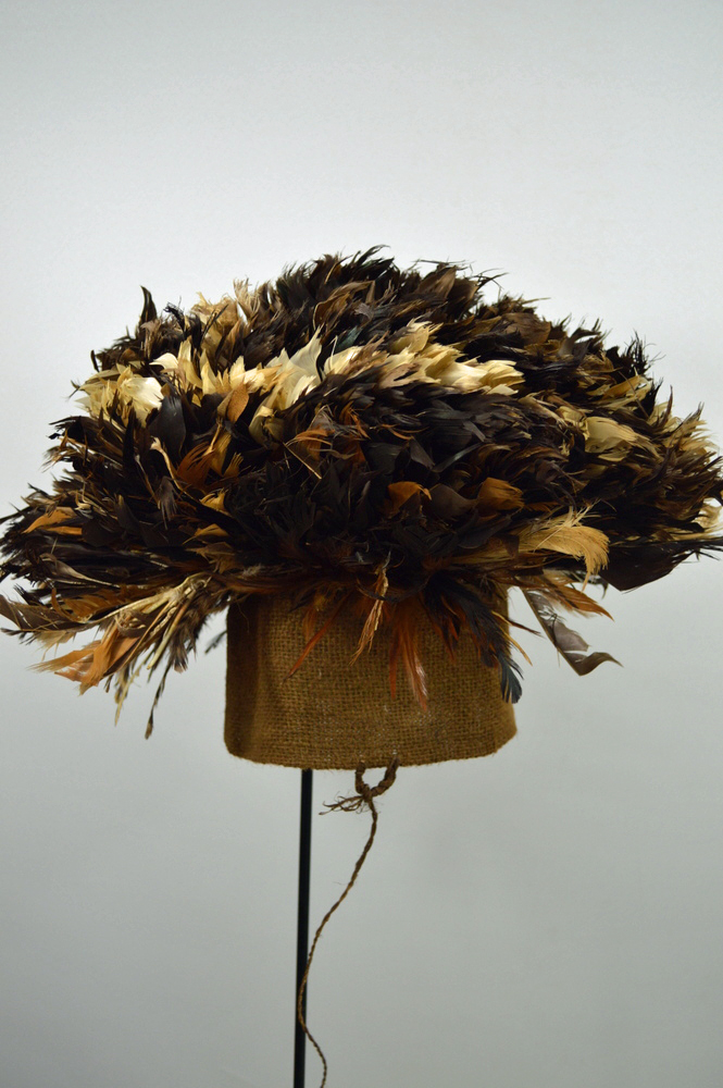 Bamileke Feather Hat
