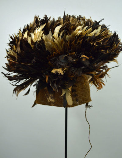 Bamileke Mekan Feather Hat 1132_0003