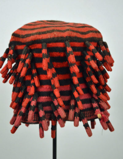 Bamileke Mekan Hat Red Pink 1135_0001