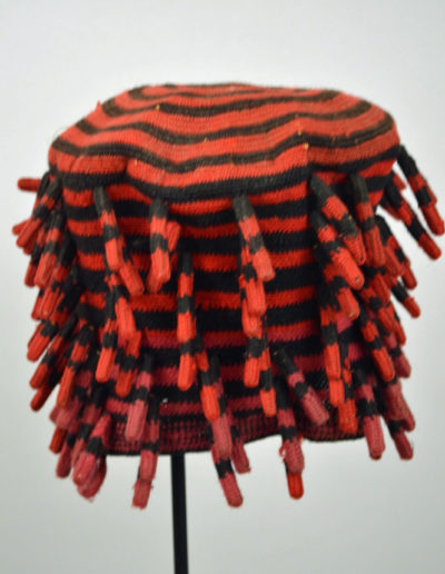 Bamileke Mekan Hat Red Pink 1135_0002