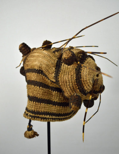Bamileke Porcupine Quill Hat 1134_0002