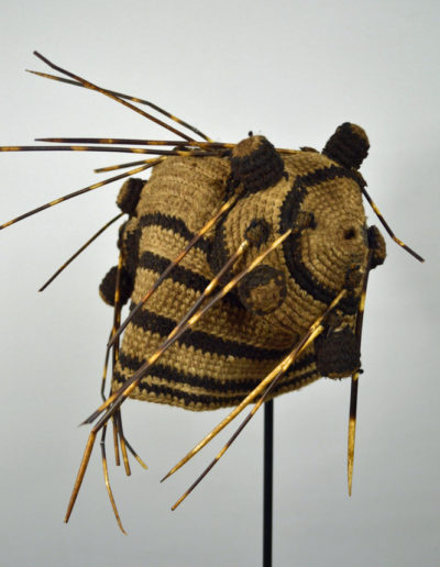 Bamileke Porcupine Quill Hat 1134_0006