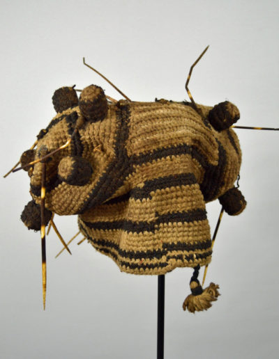 Bamileke Porcupine Quill Hat 1134_0008