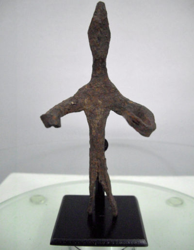 Dogon Iron Shrine Figure 13222449