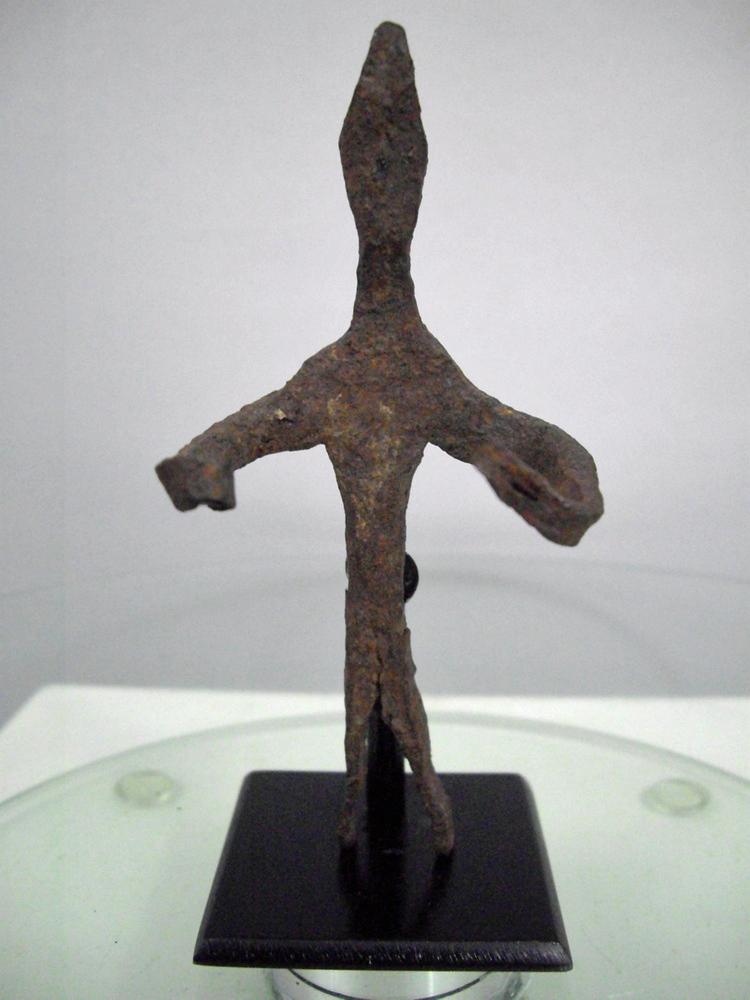 Dogon Iron Ginna Figure
