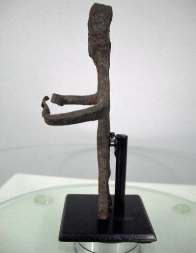 Dogon Iron Shrine Figure 13222451