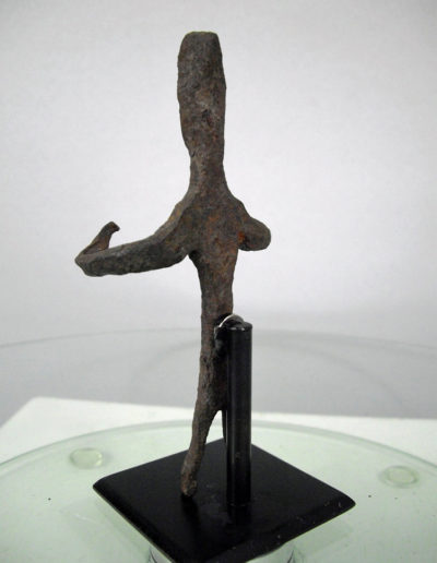 Dogon Iron Shrine Figure 13222452