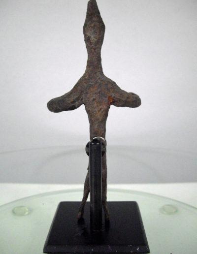 Dogon Iron Shrine Figure 13222453