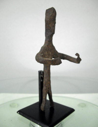 Dogon Iron Shrine Figure 13222456