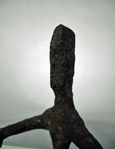 Dogon Iron Shrine Figure 13222458