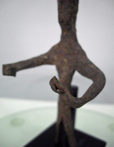 Dogon Iron Shrine Figure 13222459