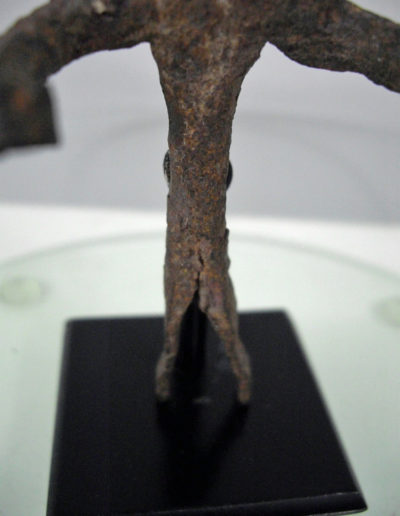 Dogon Iron Shrine Figure 13222461