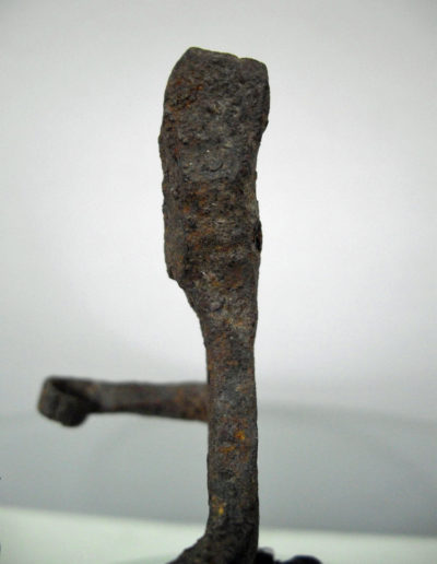 Dogon Iron Shrine Figure 13222462