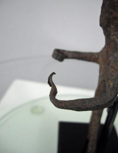Dogon Iron Shrine Figure 13222463