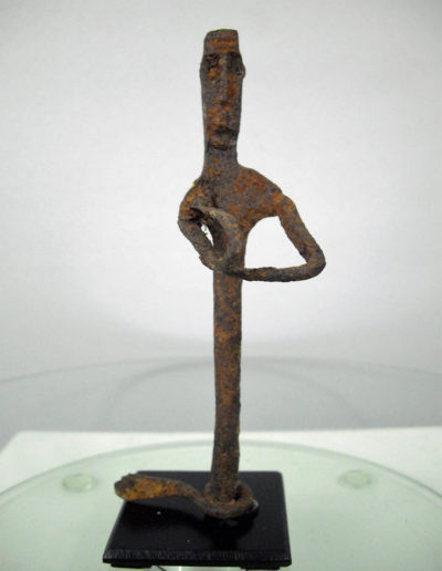 Dogon Iron Shrine Figure 13232464