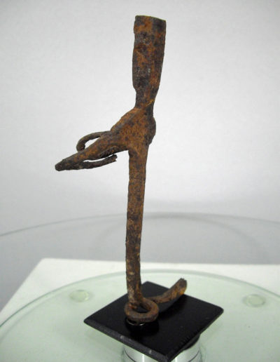Dogon Iron Shrine Figure 13232469