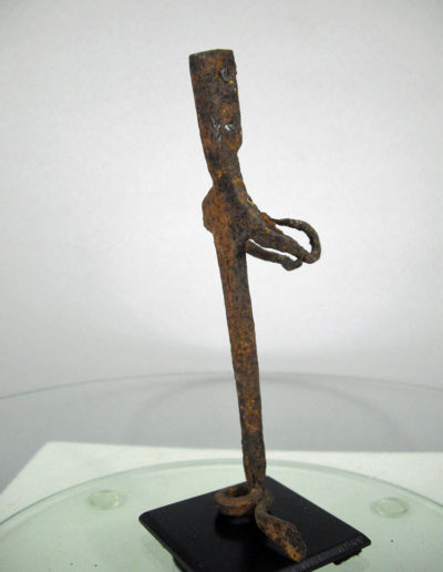 Dogon Iron Shrine Figure 13232471