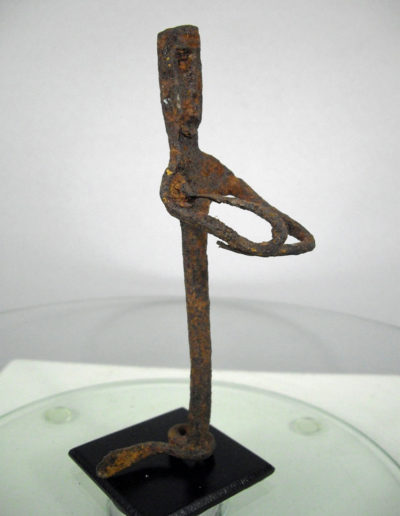 Dogon Iron Shrine Figure 13232473