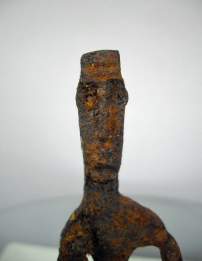 Dogon Iron Shrine Figure 13232474