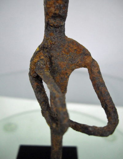 Dogon Iron Shrine Figure 13232475
