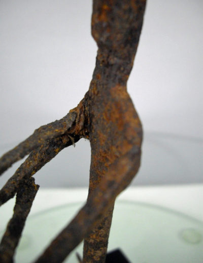Dogon Iron Shrine Figure 13232479