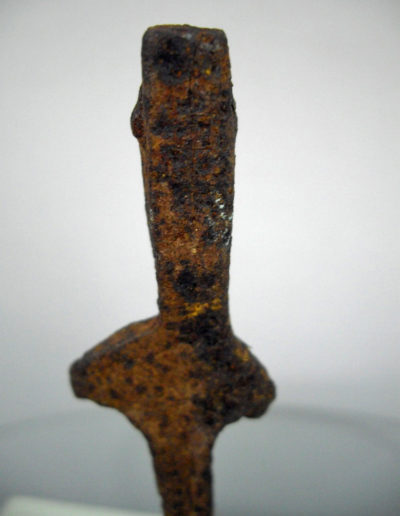 Dogon Iron Shrine Figure 13232480