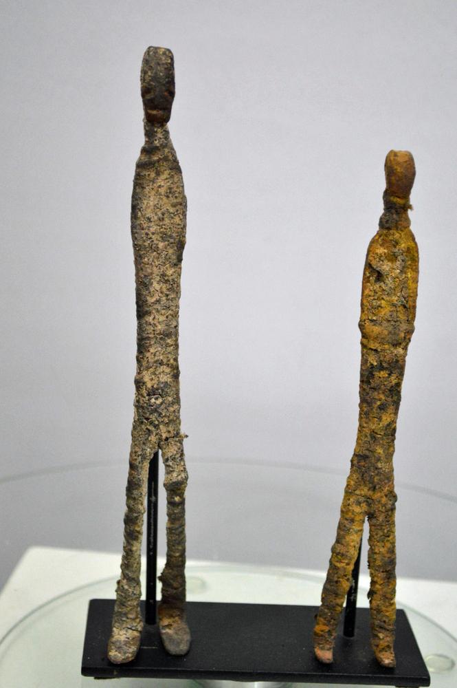 Dogon Iron Ginna Figures