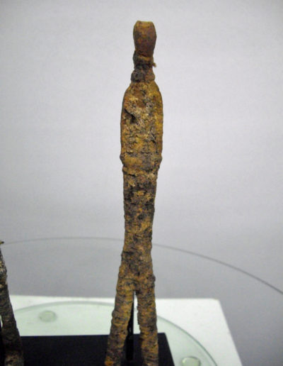 Dogon Iron Shrine Figure 1332 13332635