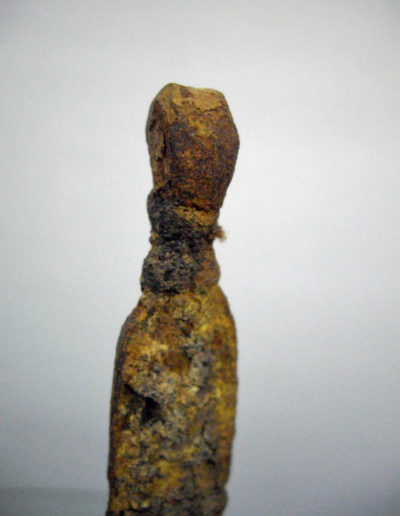 Dogon Iron Shrine Figure 1332 13332636