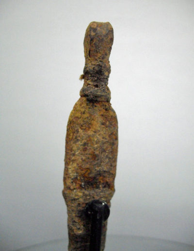 Dogon Iron Shrine Figure 1332 13332643