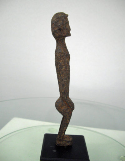 Dogon Iron Shrine Figure 13362685