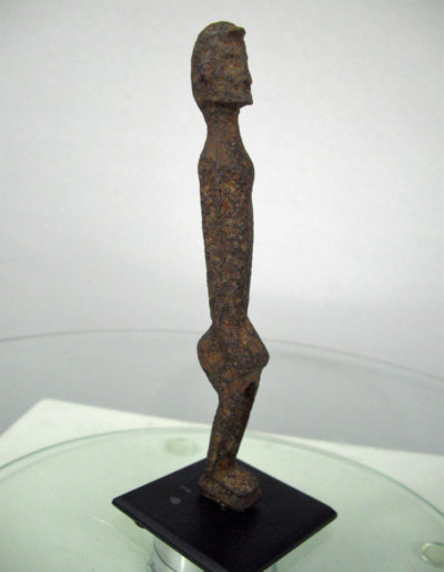 Dogon Iron Shrine Figure 13362686