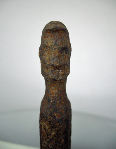 Dogon Iron Shrine Figure 13362688