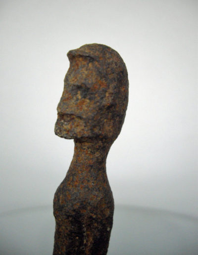 Dogon Iron Shrine Figure 13362692