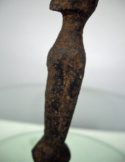 Dogon Iron Shrine Figure 13362693