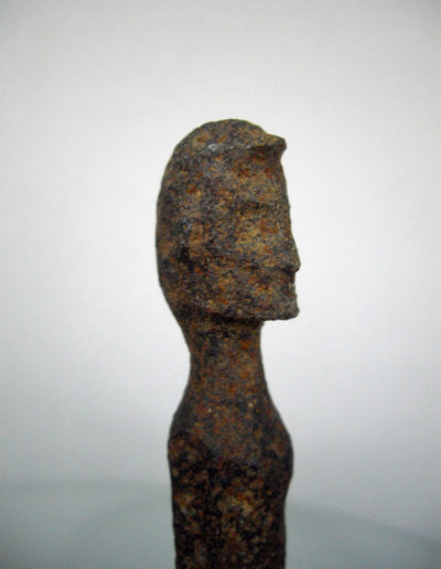 Dogon Iron Shrine Figure 13362695
