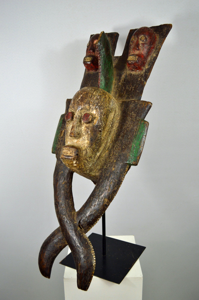 Ijaw Ijo Water Spirit Headdress