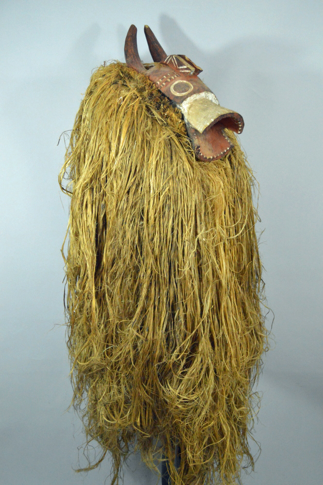 Mumuye Buffalo Mask and Costume