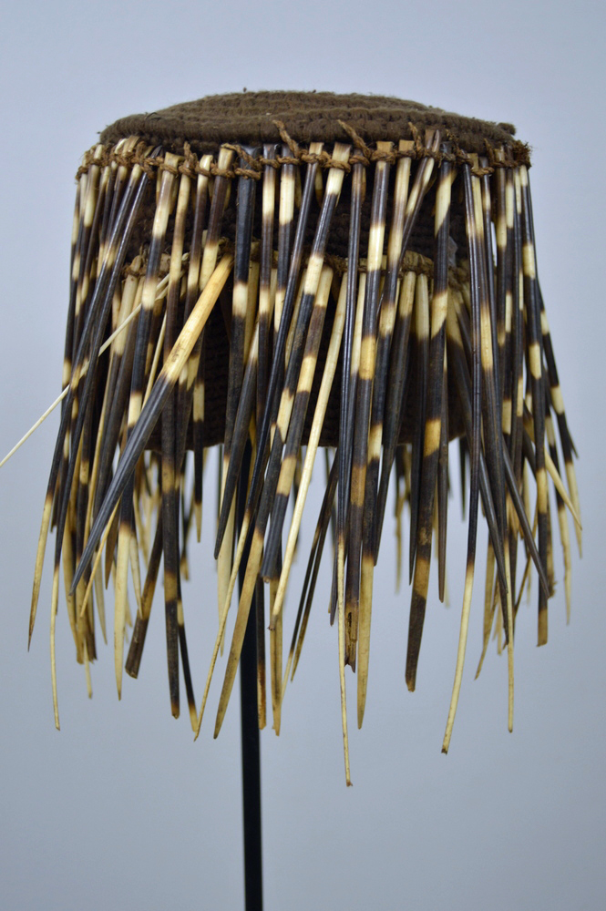 Bamileke Porcupine Quill Hat