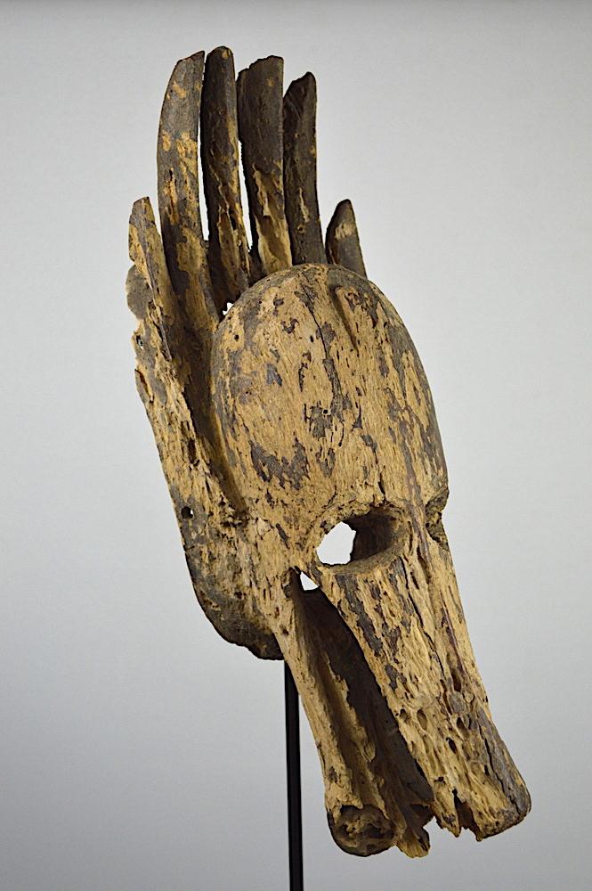 Bambara Souroukou Hyena Mask