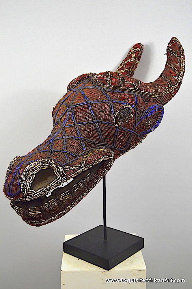 Bamileke Buffalo Mask