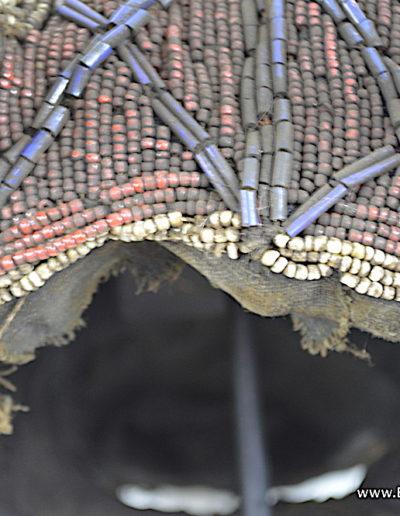 Bamileke Beaded buffalo mask 1376-016