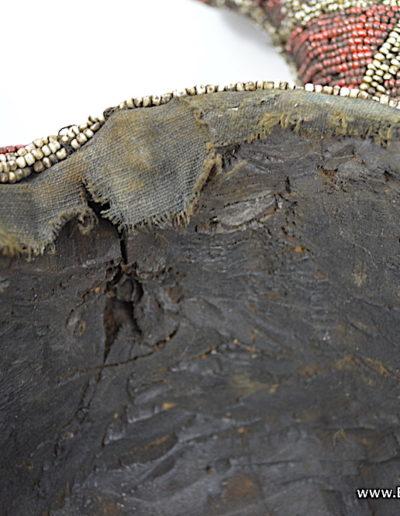 Bamileke Beaded buffalo mask 1376-023