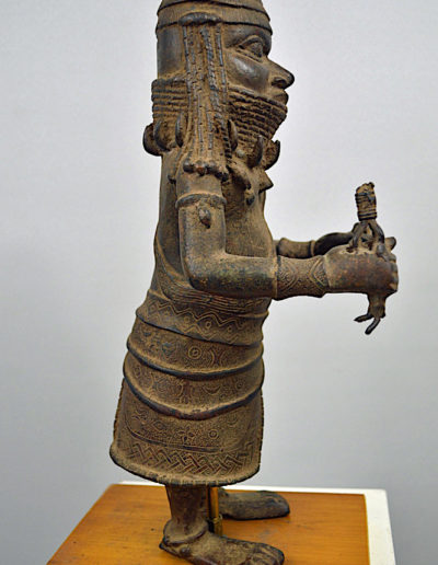Benin Bronze Guard 1249_0005